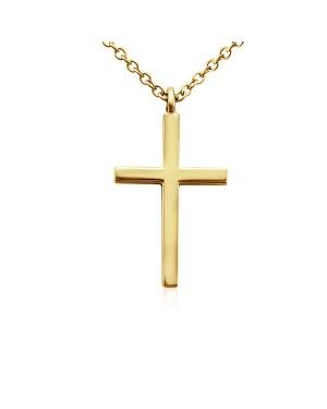 Colar Crucifixo em Ouro 18K