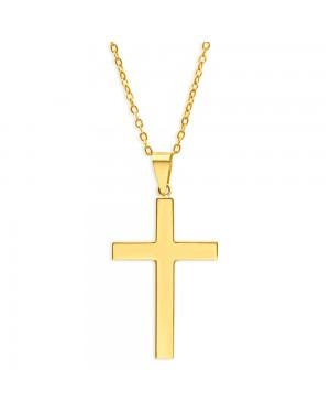 Corrente Crucifixo Masculino em Ouro 18K