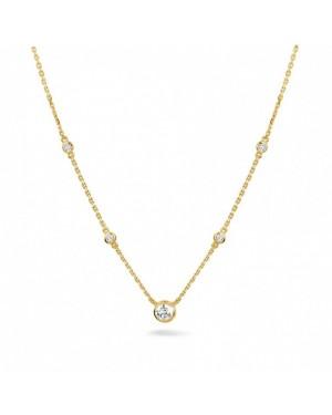 Colar com Pingentes em Ouro 18K e Diamantes
